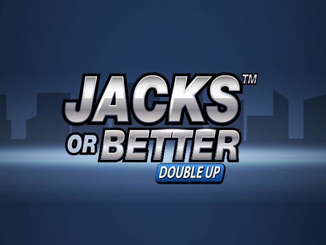 Videopoker Jacks or Better Double Up